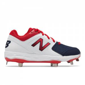 New Balance Fresh Foam Velo1 Women's Softball Shoes - Blue / Red (SMVELOA1)