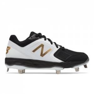 New Balance Fresh Foam Velo1 Women's Softball Shoes - Black / White (SMVELOK1)