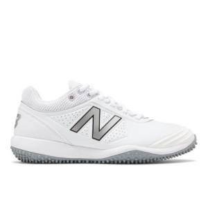 New Balance Fusev2 Turf Women's Softball Shoes - White (STFUSEW2)
