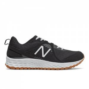 New Balance Fresh Foam 3000v5 Turf Men's Baseball Shoes - Black / White (T3000BK5)