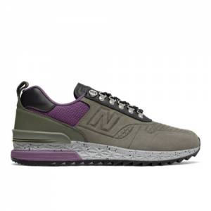 New Balance Trailbuster Nubuck Men's Outdoor Sport Style Sneakers Shoes - Military Green / Purple (TBATNN)