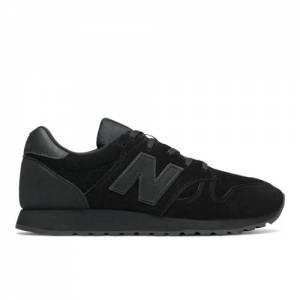 New Balance 520 Men's & Women's Running Classics Shoes - Black (U520BB)
