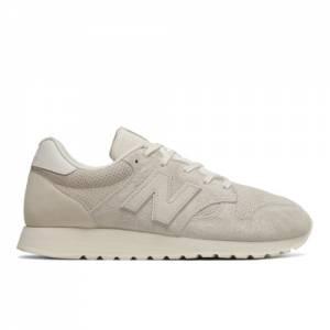 New Balance 520 Men's & Women's Running Classics Sneaker Shoes - Off White / White (U520BD)