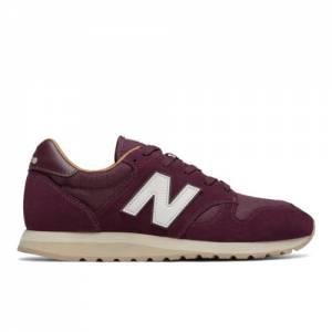 New Balance 520 Men's & Women's Running Classics Sneaker Shoes - Burgundy / Brown (U520BE)