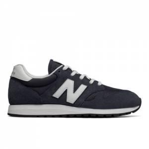 New Balance 520 70s Running Unisex Classics Shoes - Navy (U520DH)