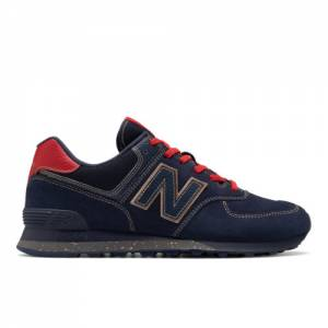 New Balance 574 Inspire The Dream Men's Running Classics Shoes - Navy (U574BHM)