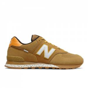 New Balance 574 Unisex Shoes - Yellow (U574CTB)