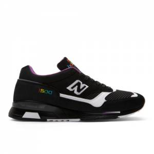 New Balance 1500 Made in UK Men's Sneakers Shoes - Black / White (M1500CPK)
