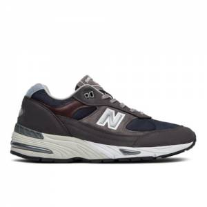 New Balance 991 Made in UK Men's Shoes - Dark Grey (M991GNN)