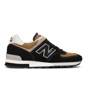 New Balance 576 Made in UK Men's Shoes - Black (OM576OKT)