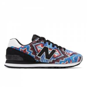 New Balance x Ricardo Seco 574 Men's & Women's 574 Shoes - Blue / Red (UL574-SYN)