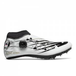 New Balance Vazee Sigma Men's & Women's Track Spikes Shoes - White / Black (USD200W3)