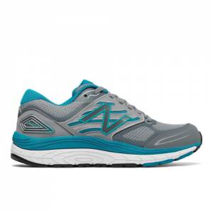 New Balance 1340v3 Women's Running Shoes - Grey / Blue (W1340GB3)
