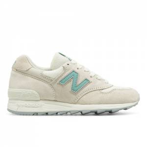 New Balance 1400 Made in USA Women's Running Classics Sneakers Shoes - Off White / Blue (W1400CHS)