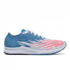 New Balance 1500v6 Women's Racing Flats Running Shoes - Grey / Blue (W1500WB6)