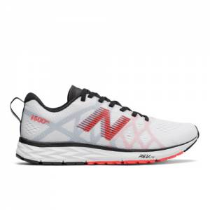 New Balance 1500v4 Women's Racing Flats Running Shoes - White / Red (W1500WR4)