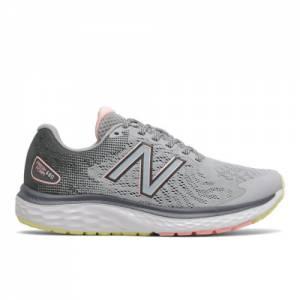 New Balance Fresh Foam 680v7 Women's Running Shoes - Silver Grey (W680LG7)