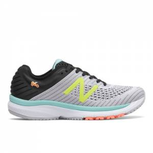 New Balance 860v10 Women's Stability Running Shoes - Grey / Black (W860D10)