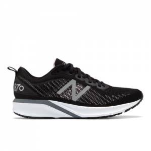 New Balance 870v5 Women's Stability Running Shoes - Black (W870BW5)