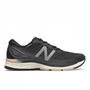 New Balance 880v9 GTX Women's Running Shoes - Black (W880GT9)