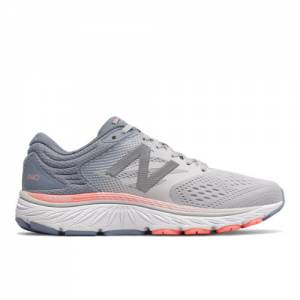 New Balance 940v4 Women's Stability Running Shoes - Grey (W940GP4)