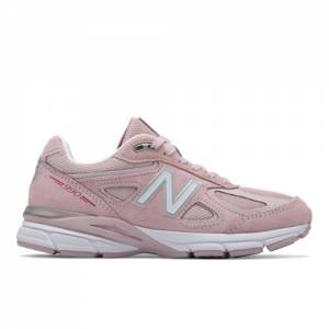 New Balance 990v4 Pink Ribbon Women's Made in USA Shoes - Faded Rose (W990KMN4)