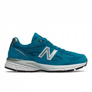 New Balance 990v4 Made in US Women's Made in USA Shoes - Blue (W990LB4)