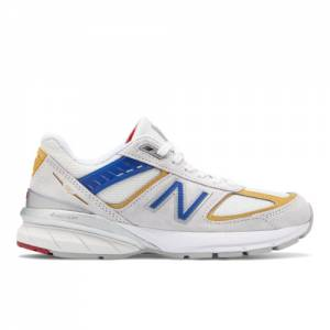 New Balance Made in USA 990v5 Women's Shoes - White (W990NR5)