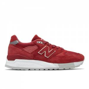 New Balance 998 Made in US Women's Made in USA Shoes - Red (W998RBE)