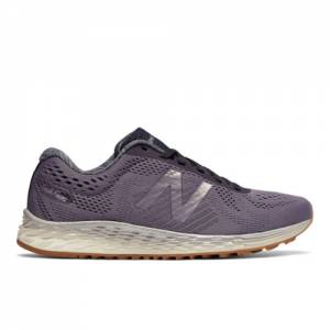 New Balance Fresh Foam Arishi Women's Soft and Cushioned Shoes - Purple / Grey (WARISLS1)