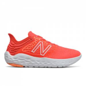 New Balance Fresh Foam Beacon v3 Women's Running Shoes - Red (WBECNCP3)