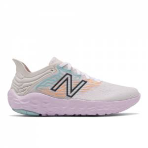 New Balance Fresh Foam Beacon v3 Women's Running Shoes - White (WBECNCW3)