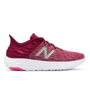 New Balance Fresh Foam Beacon v2 Women's Running Shoes - Red (WBECNDF2)