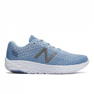 New Balance Fresh Foam Beacon Women's Neutral Cushioned Shoes - Light Blue (WBECNIB)