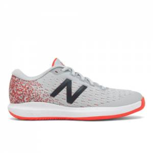 New Balance FuelCell 996v4 Women's Tennis Shoes - Grey / Red (WCH996CG)