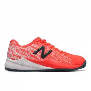 New Balance 996v3 Women's Tennis Shoes - Red (WCH996U3)