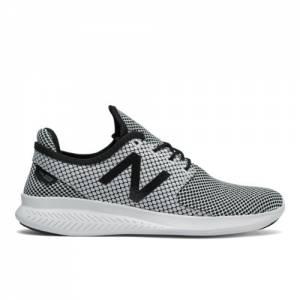 New Balance FuelCore Coast v3 Women's Speed Running Shoes - Black / White (WCOASL3H)