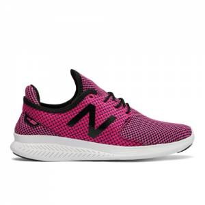 New Balance FuelCore Coast v3 Women's Speed Running Shoes - Pink / Black (WCOASL3S)