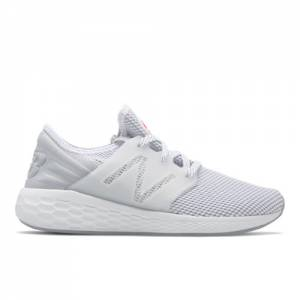 New Balance Fresh Foam Cruz v2 Sport Women's Neutral Cushioned Shoes - White (WCRUZRW2)