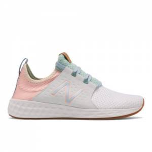New Balance Fresh Foam Cruzv1 Reissue Women's Running Shoes - White (WCRZRWP)
