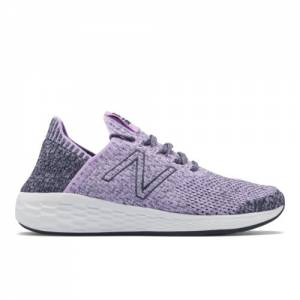 New Balance Fresh Foam Cruz SockFit Women's Running Shoes - Violet (WCRZSLV2)