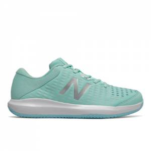 New Balance Clay Court 696v4 Women's Tennis Shoes - Blue (WCY696F4)