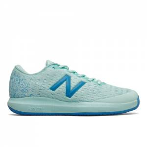 New Balance Clay Court FuelCell 996v4 Women's Tennis Shoes - Blue (WCY996F4)