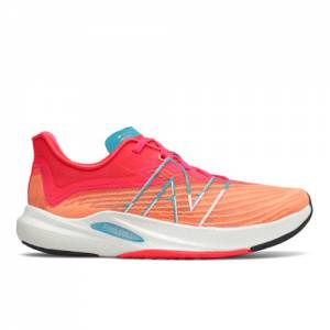 New Balance FuelCell Rebel v2 Women's Running Shoes - Orange / Pink (WFCXLM2)