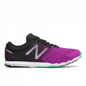 New Balance Hanzo S v2 Women's Racing Flats Running Shoes - Violet (WHANZSGV)