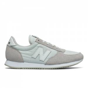 New Balance 220 Women's Sneakers Shoes - Grey / White (WL220WT)