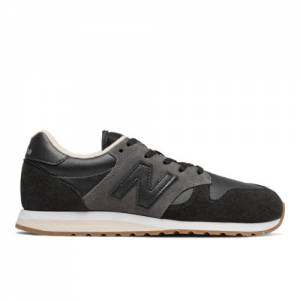 New Balance 520 70's Women's Running Classics Shoes - Black (WL520FB)