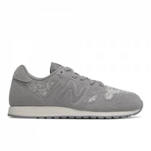 New Balance 520 Floral Women's Running Classics Shoes - Grey (WL520NRY)