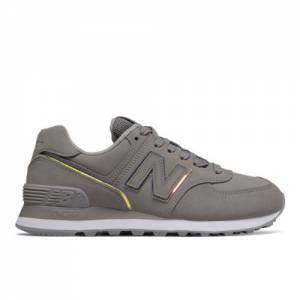 New Balance 574 Women's Running Classics Shoes - Grey (WL574CLE)
