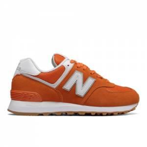 New Balance 574 Women's Sneakers Shoes - Orange (WL574ESU)